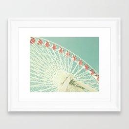 Huge Ferris Wheel Framed Art Print