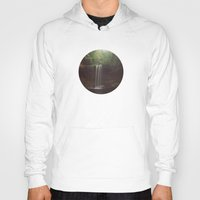 beaver Hoodies featuring Beaver Falls by Kevin Russ
