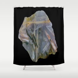 Chopstix Agate Shower Curtain