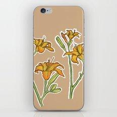 Orange lilies iPhone & iPod Skin