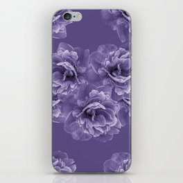 Ultra Violet Peony Flower Bouquet #1 #floral #decor #art #society6 iPhone Skin