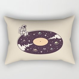 Cosmic Sound Rectangular Pillow
