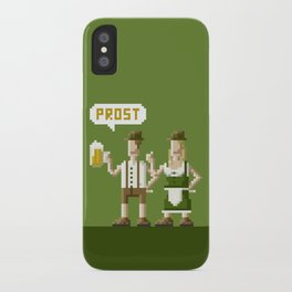 Bavarian Pixel iPhone Case