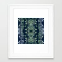 fern Framed Art Prints featuring Fern by Good Sense