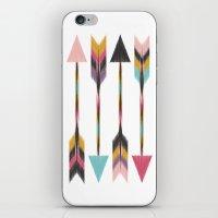 bohemian iPhone & iPod Skins featuring Bohemian Arrows by Bohemian Gypsy Jane