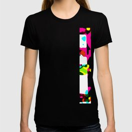 Coloful flow T-shirt
