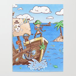 Even Pirates Need to Listen Poster