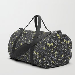 Charcoal Strawberry Duffle Bag