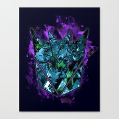Decepticons Abstractness - Transformers Canvas Print
