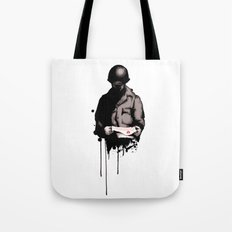 War Letter Tote Bag