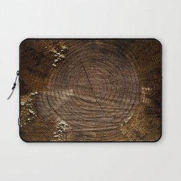 Tree Trunk with Moss Laptop Sleeve