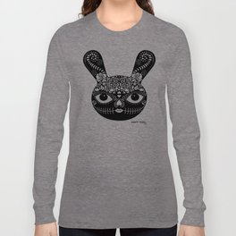 Day Of The Dead Bunny Long Sleeve T-shirt