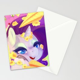 Rarity's mail Stationery Cards