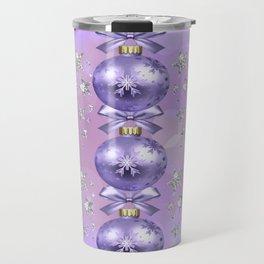 The Joy of Christmas - Purple Travel Mug