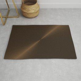 Dark Brown Bronze Metal Rug