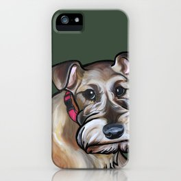 Maggie the irish terrier iPhone Case