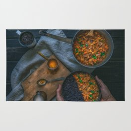Best Damn Coconut Curry Rug