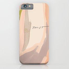 """""""Trust"""" iPhone Case"""