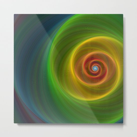 Space dream spiral Metal Print