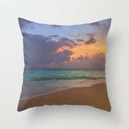 Needle in the bay Throw Pillow