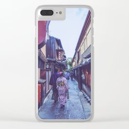 Japan - Kyoto Clear iPhone Case