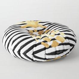 Pineapple & Stripes Floor Pillow