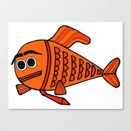 Fancy Fish Canvas Print