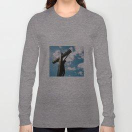 Behind the Cross Long Sleeve T-shirt
