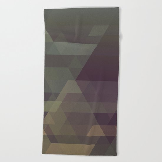 The Clearest Line III Beach Towel