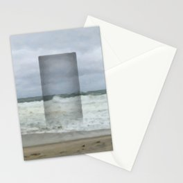 The Seaward Door (Square) Stationery Cards