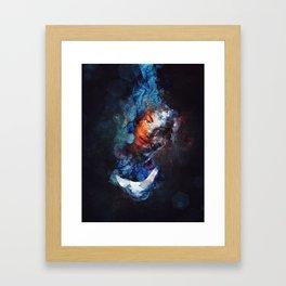 Tear Drop Framed Art Print