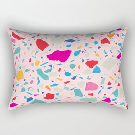 Summer in Memphis Terrazzo Rectangular Pillow