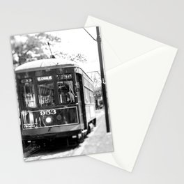 New Orleans St. Charles Streetcar Stationery Cards