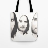 jared leto Tote Bags featuring jared leto... by als3
