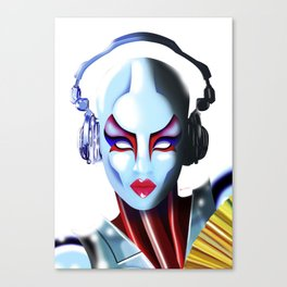 WomanBot Canvas Print