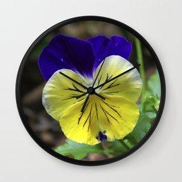 Vivid Viola Wall Clock