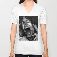 tyler spangler V-neck T-shirts featuring Steve Tyler by ''Befne''