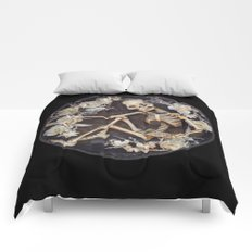 In Memoriam Skeleton  Comforters