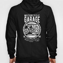 motorcycle garage Hoody