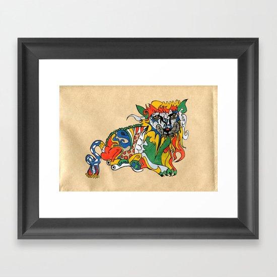 update 1.1 Framed Art Print