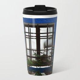 bodrum style window Travel Mug