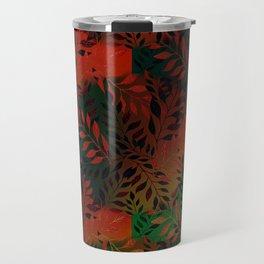 Abstract Leaf Arrangement (African Colors) Travel Mug