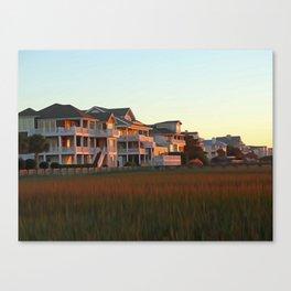 BeachTownHideOut Canvas Print