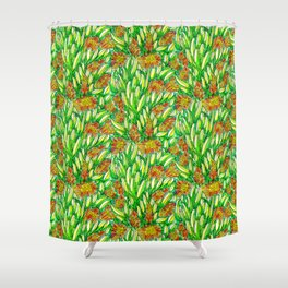 Ice Plants Shower Curtain