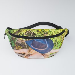 Nude Cowgirl Fanny Pack