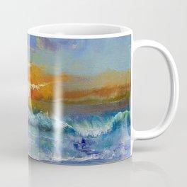 Malibu Beach Sunset Coffee Mug