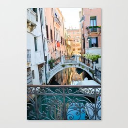 Venice Waters Canvas Print