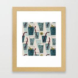 Drink More Water! Framed Art Print