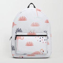 Minimal Flamingo Backpack