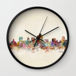 salt lake city utah Wall Clock